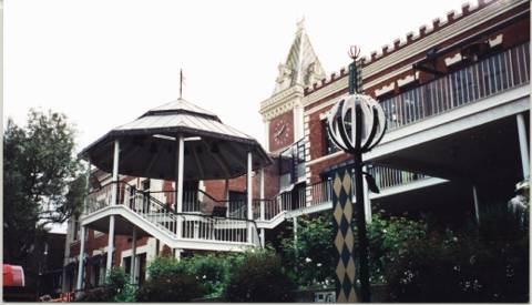 The bandstand at Ghirardelli Square