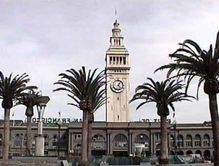 Front of Ferry Building