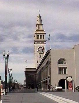 Side of Ferry Building