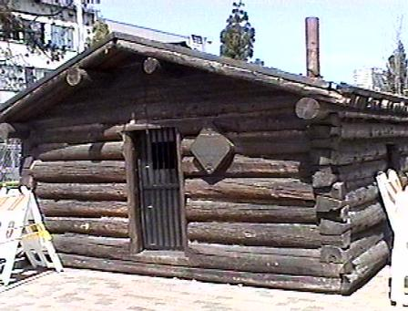 Jack London's old cabin from the Yukon.