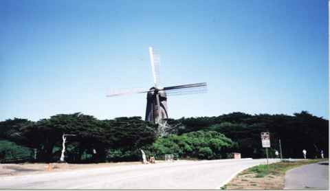 The old Dutch Windmill
