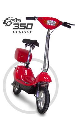 Sola electric scooters 350 Cruser